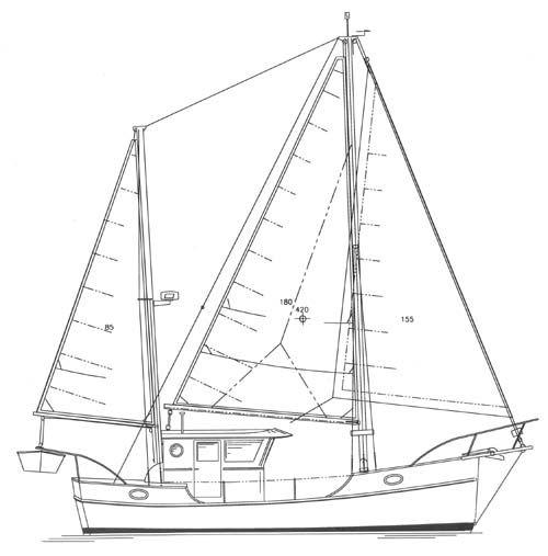 C-Trawler 29 - Power Cruiser/Trawler - Boat Plans - Boat