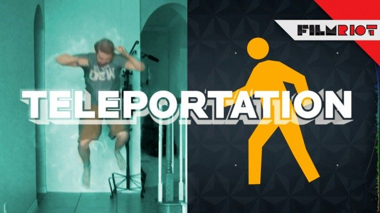 After effects teleport