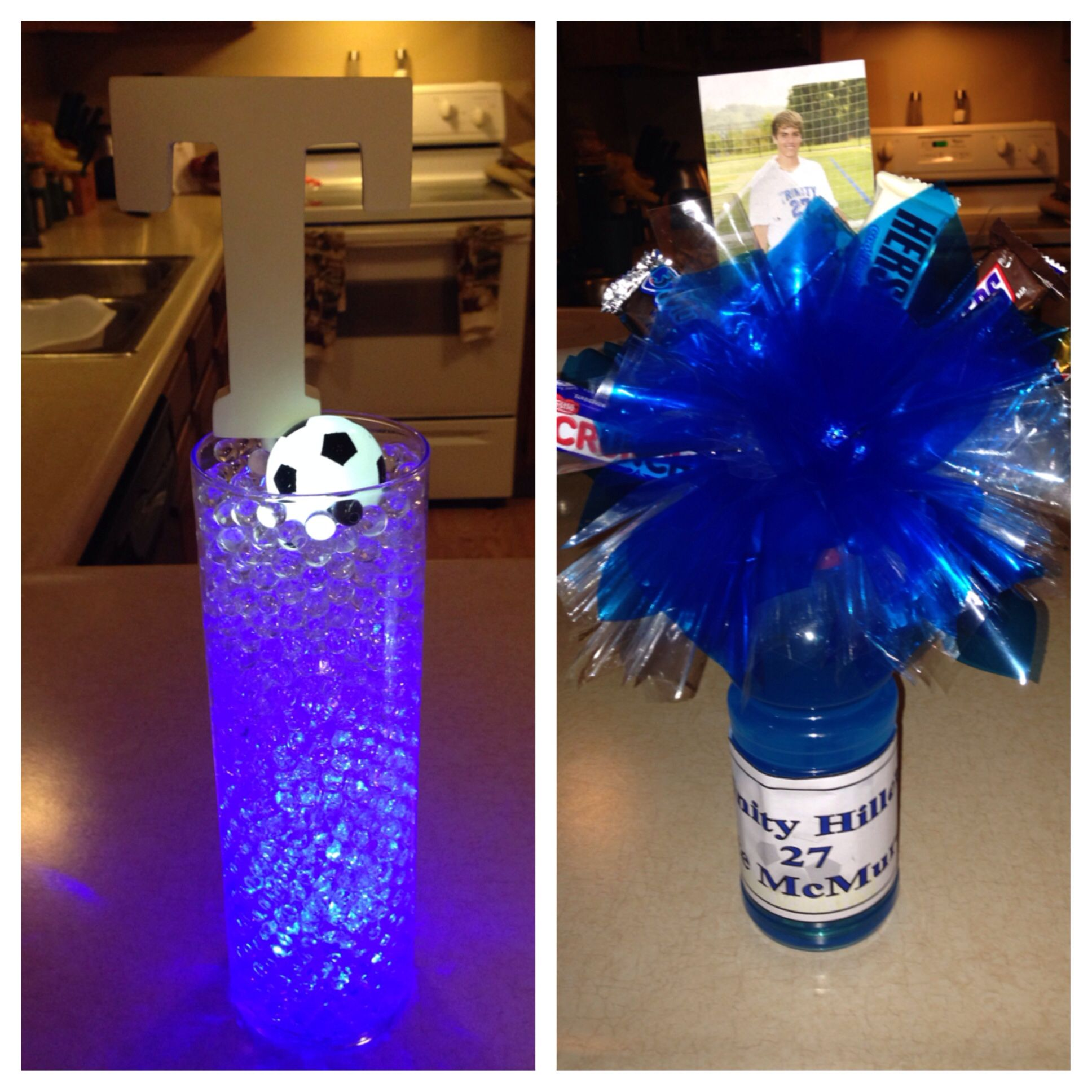 Soccer Banquet Centerpieces I Made