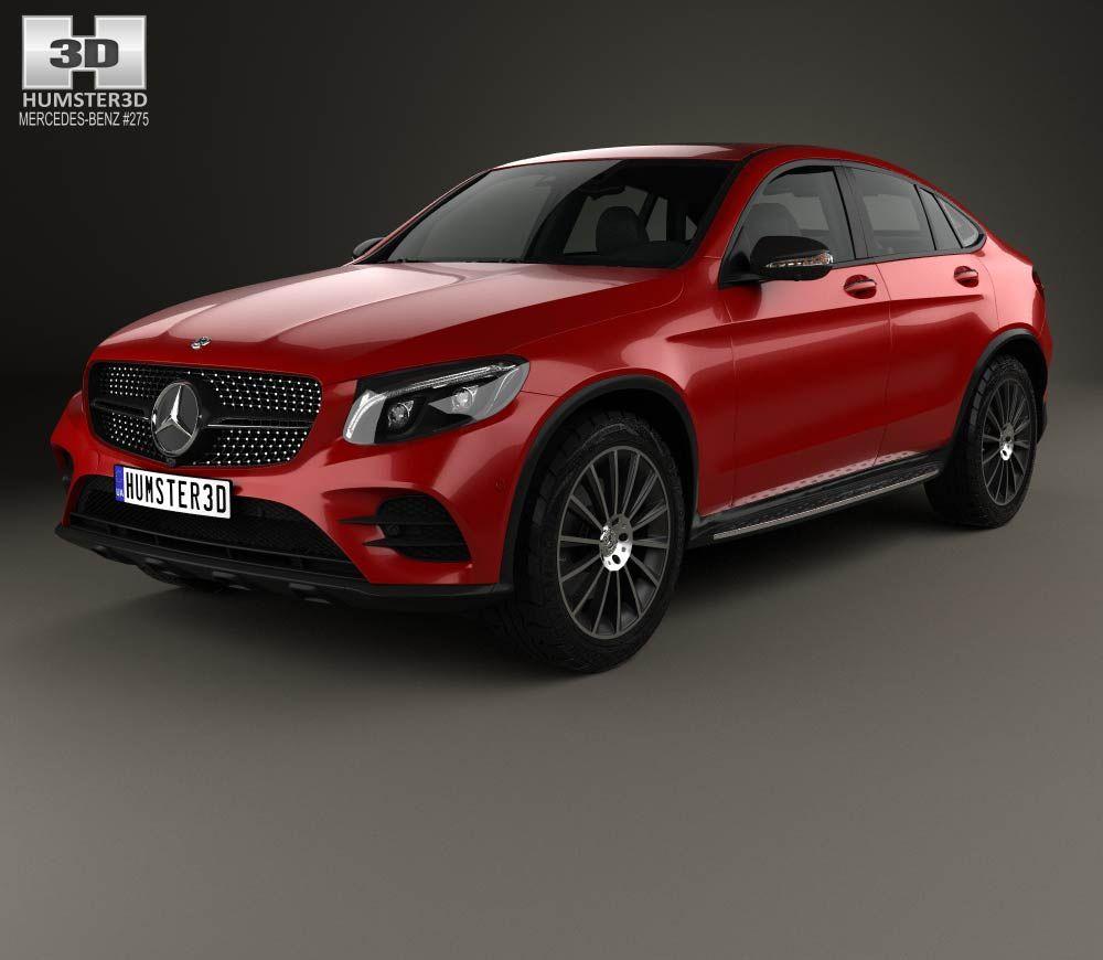 Mercedes-Benz GLC-Class (C253) Coupe AMG Line 2016 3d