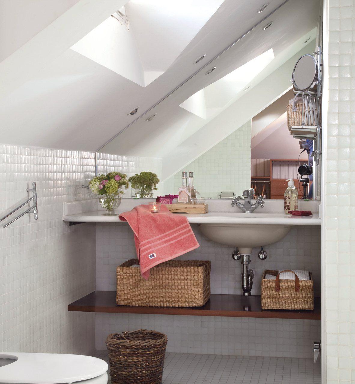Ba o actual zalo sin gastar mucho ba o bathroom for Renovar azulejo bano concreto cera