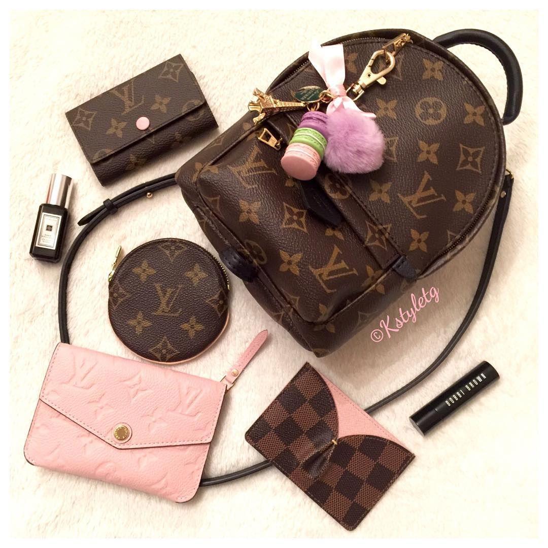 e630c301a08e louisvuitton crave Mini Louis Vuitton palm spring backpack crossbody ...