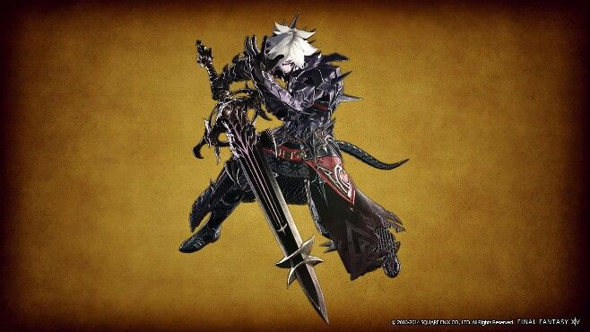 Dark Knight Au Ra | Games I like | Final fantasy xiv, Final