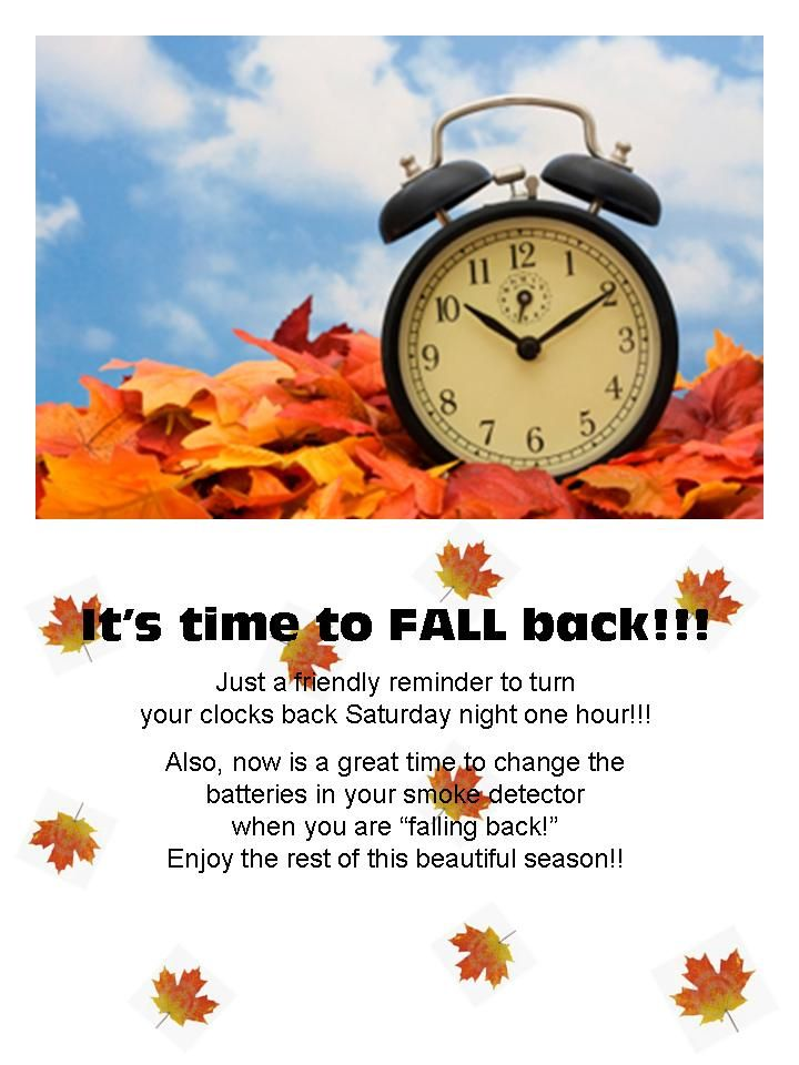 fall back clip art | It's Time to Fall Back!!! - Desi ...