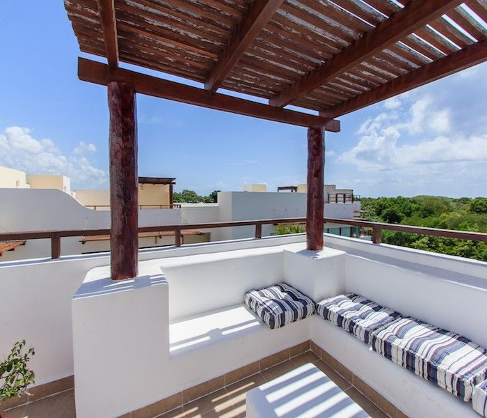 Rooftop Pergolas, A Creative Bar Ideas