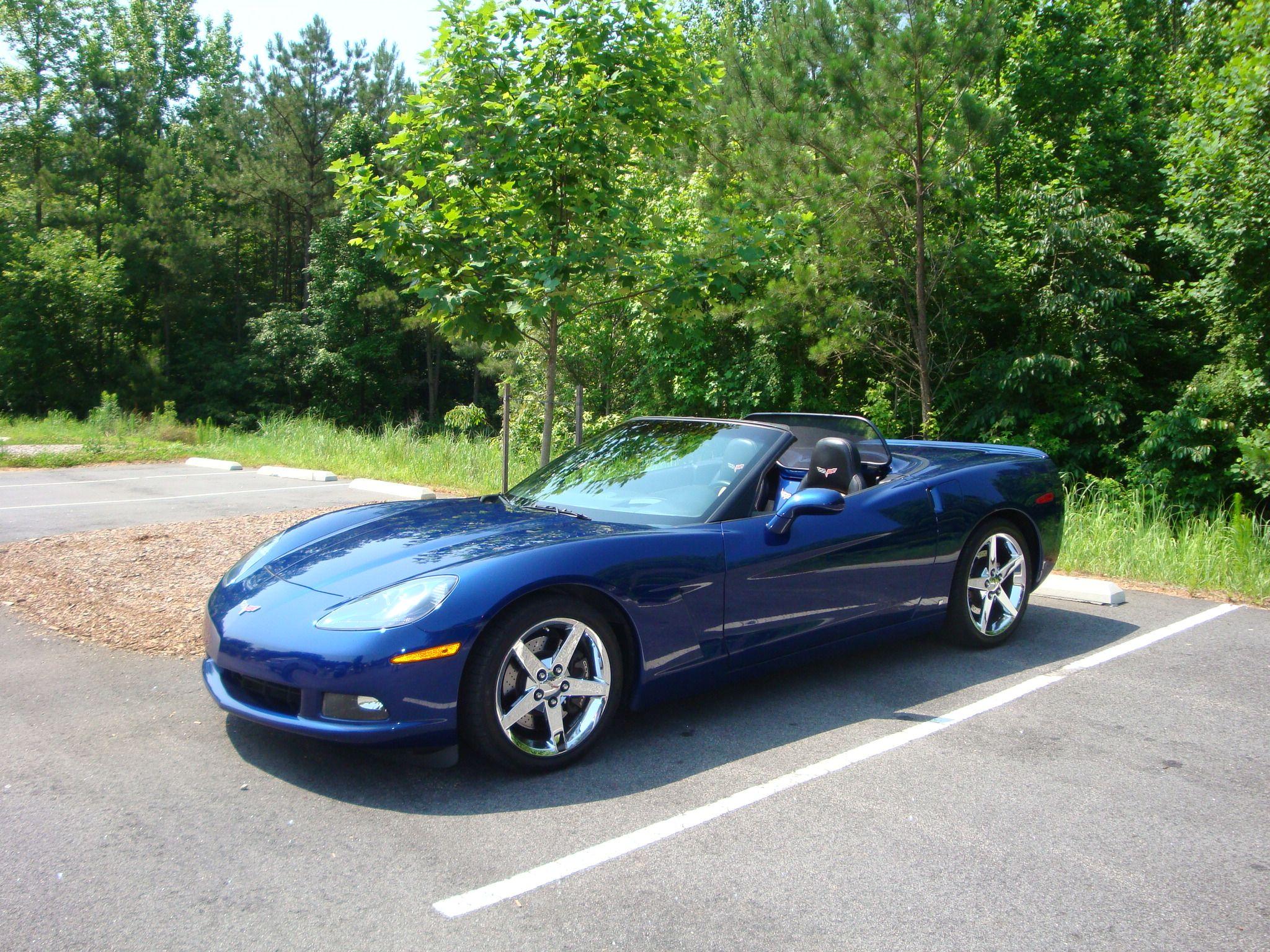 Stella 2007 C6 Corvette Convertible Le Mans Blue Corvette Convertible Corvette Chevy Corvette