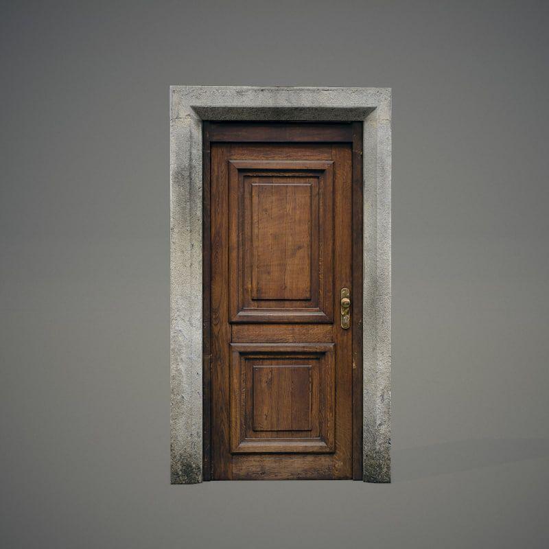 Photo of 46 ++ referanse av tre dør utvendig 3d-modell