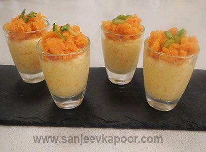 Gajar Halwa Mousse Recipe