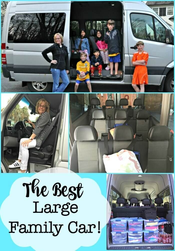 The Best Large Family Car (When You Have 6 Kids!) | Big ...