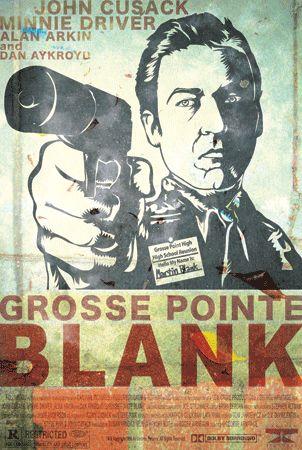 Minimalist Art Movie Poster Minimal Print Posteritty GROSSE POINTE BLANK