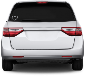 Image Of Tubie Vinyl Car Decal 2012 Honda Odyssey Rear Png Image With Transparent Background Png Free Png Images Honda Odyssey Car Decals Vinyl 2012 Honda Odyssey