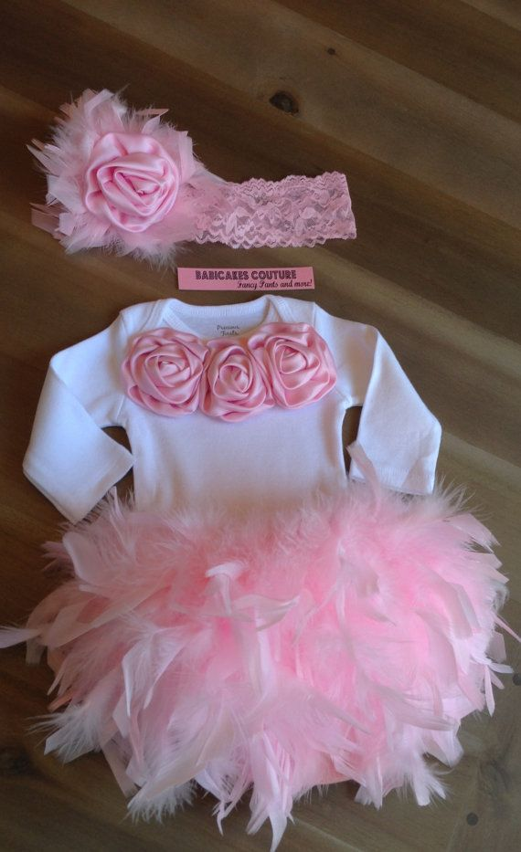 1st Birthday Feather Bloomer 1st Birthday Cake Smash Outfit Feather Tutu Feather Skirt 1st Birthday Girl Outfit Pink 1st Birthday Outfit
