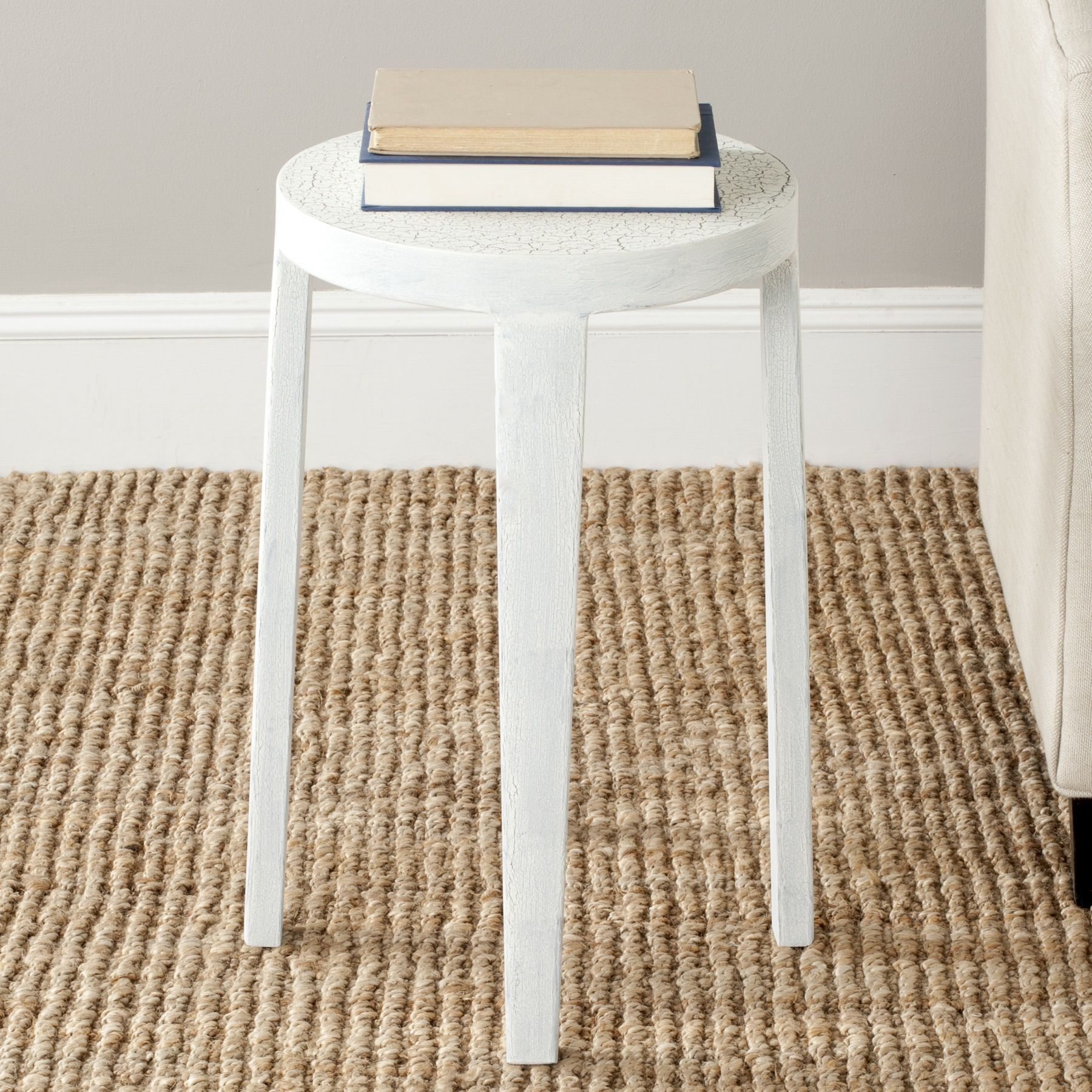 Safavieh Klein Side Table, White