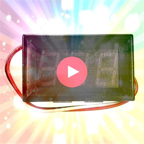 US411 056 Inch DC 01030200V 3 Wire LED Volt Meterr Digital Display Panel US361  US411 056 Inch DC 01030200V 3 Wire LED Volt Meterr Digital Display PanelUS361  US411 056...