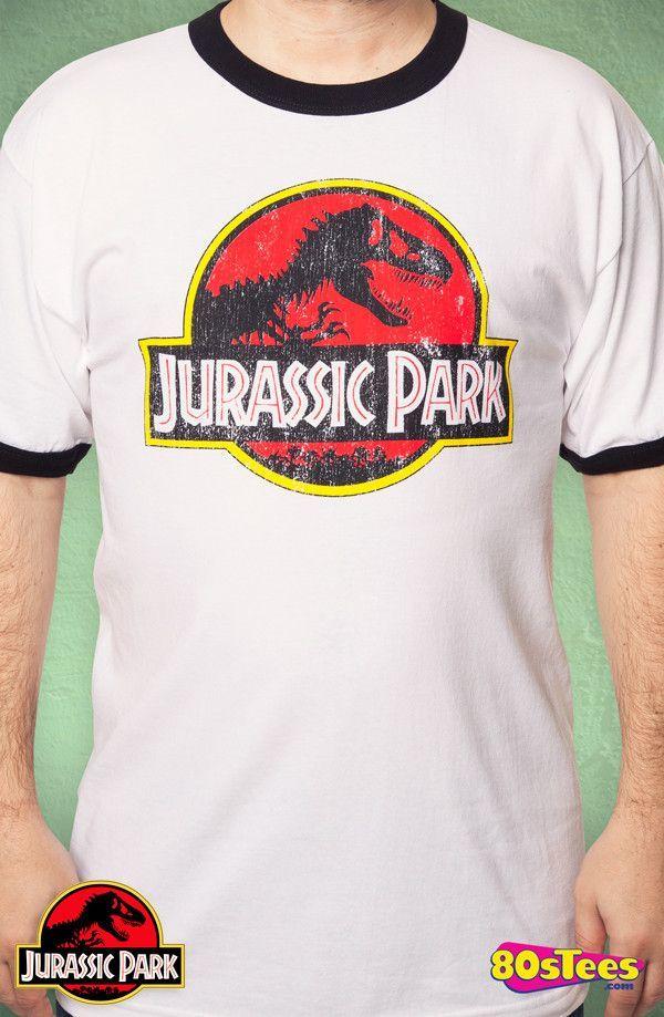 Jurassic Park Ringer T Shirt Jurassic Park T Shirt Shirts