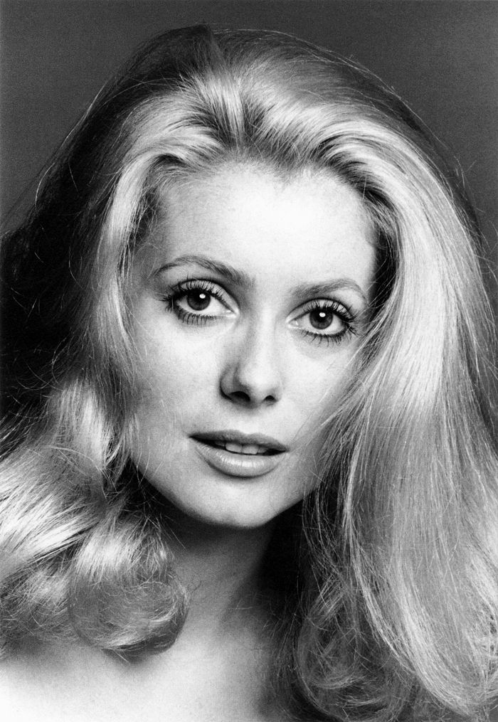 Catherine Deneuve, photographed by Francesco Scavullo (1970)