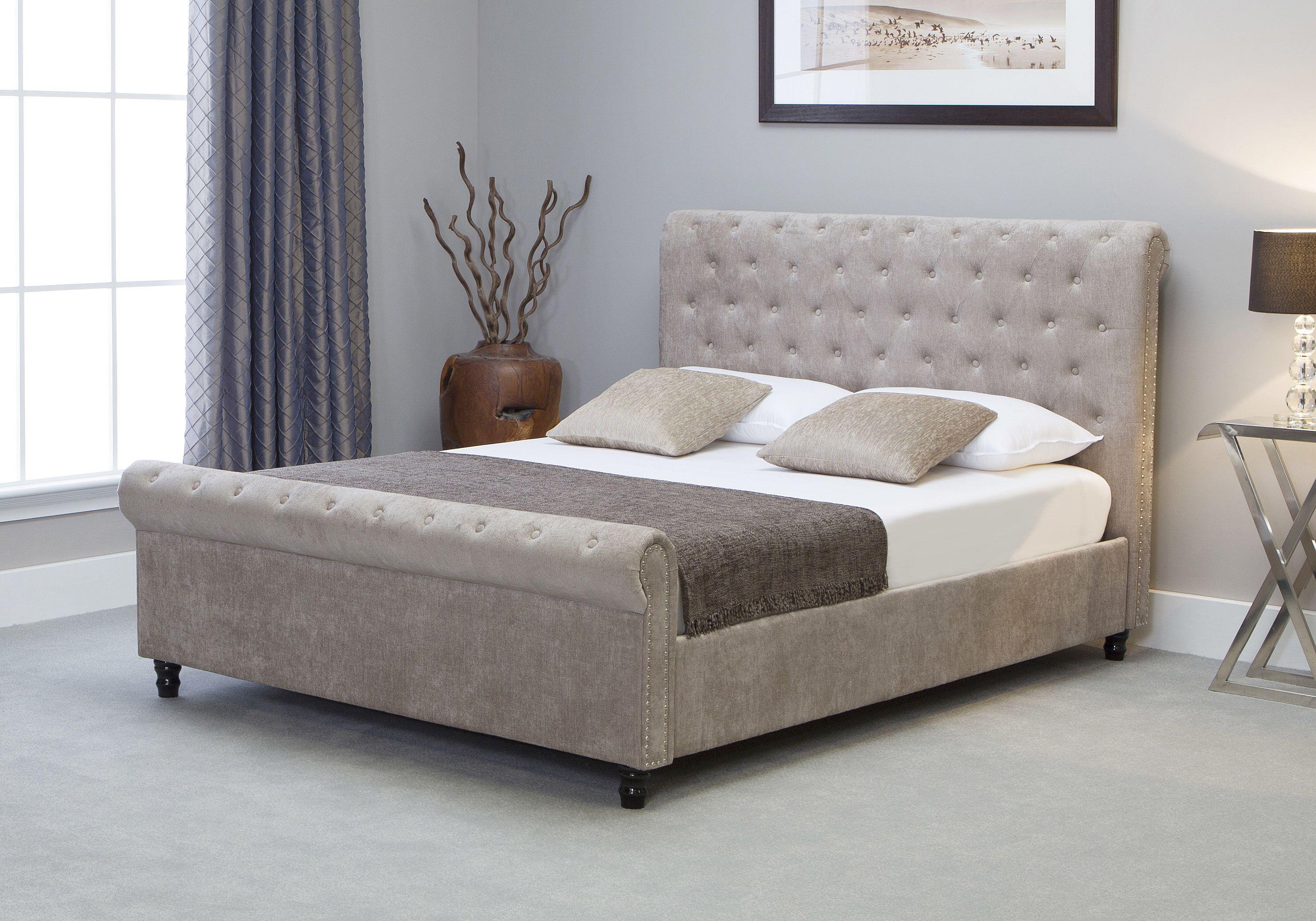 Awe Inspiring Charles Upholstered Ottoman Bed Bedroom Ottoman Bed Customarchery Wood Chair Design Ideas Customarcherynet