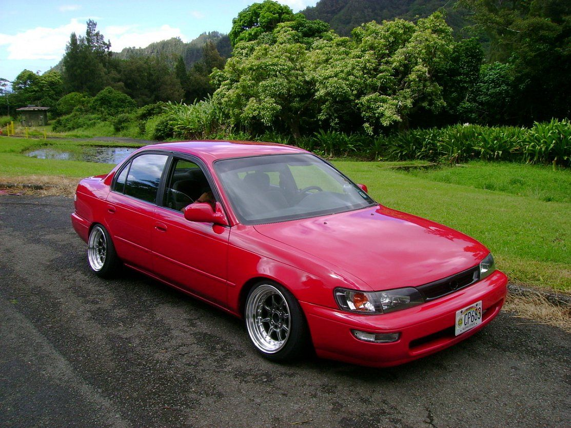Modified Toyota Corolla - Year of Clean Water