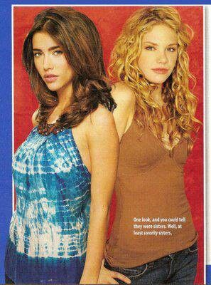B and B Steffy and Phoebe.  I miss Phoebe