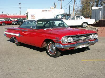 Car History Chevrolet Impala Chevrolet Impala 1960 1960 Chevy Impala