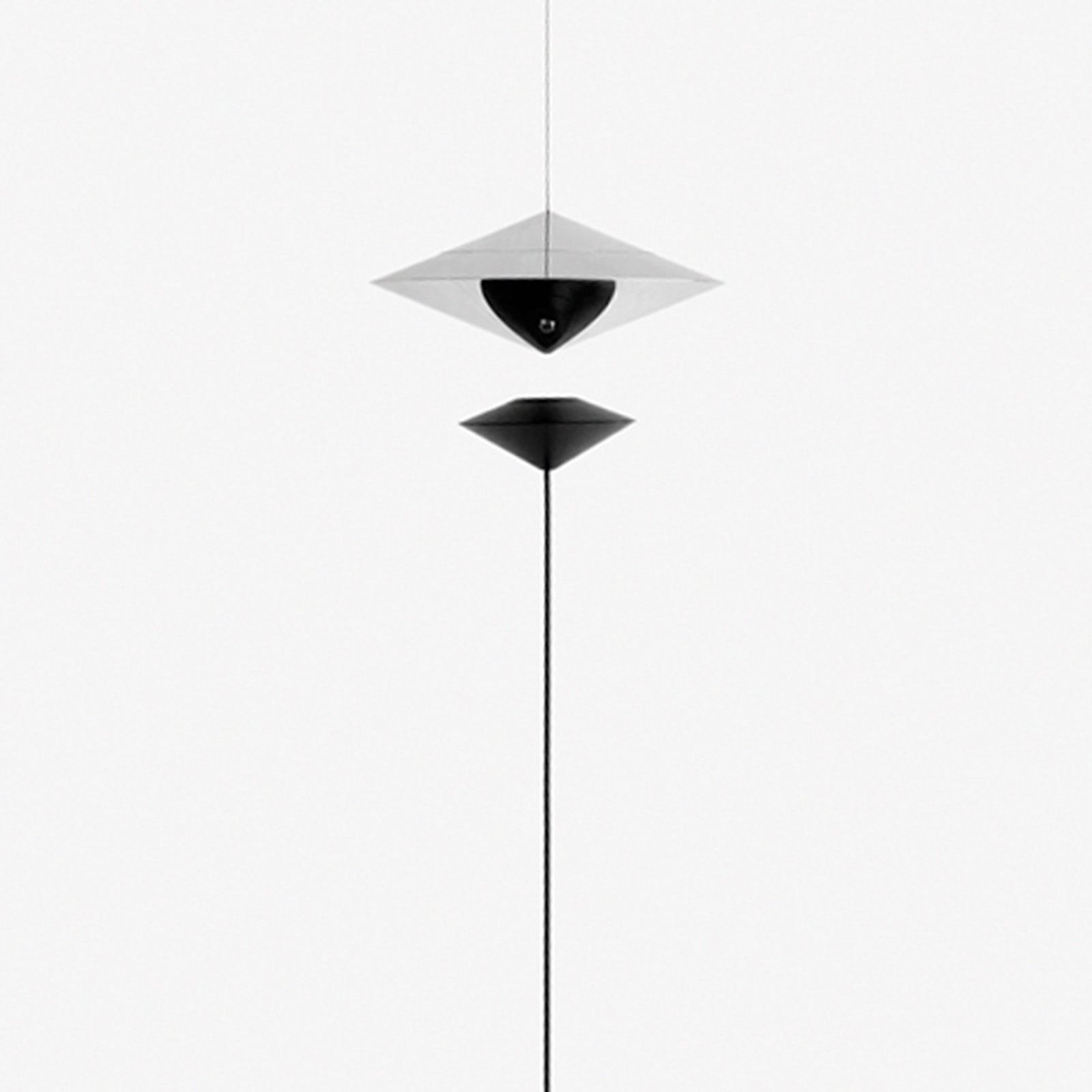 Magnetica is a pendant lamp that combines LED technology and...