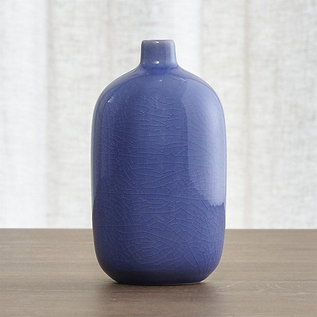 Perry Tall Blue Vase Crate And Barrel Chinese Wedding