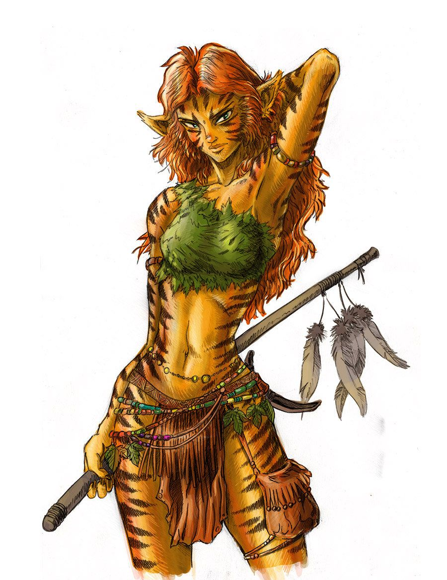 Image result for d&d female tabaxi | character art in 2019