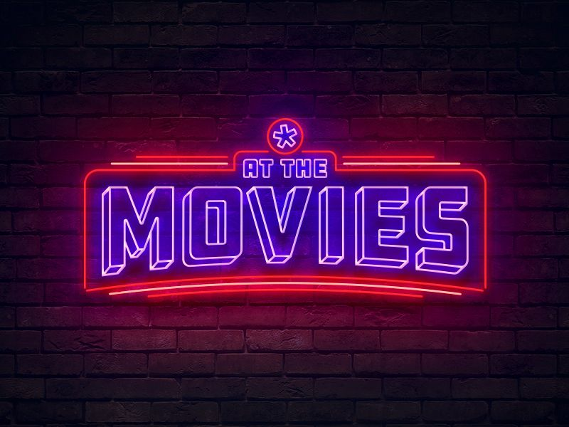 At The Movies Logo in 2020 Movie logo design, Movies