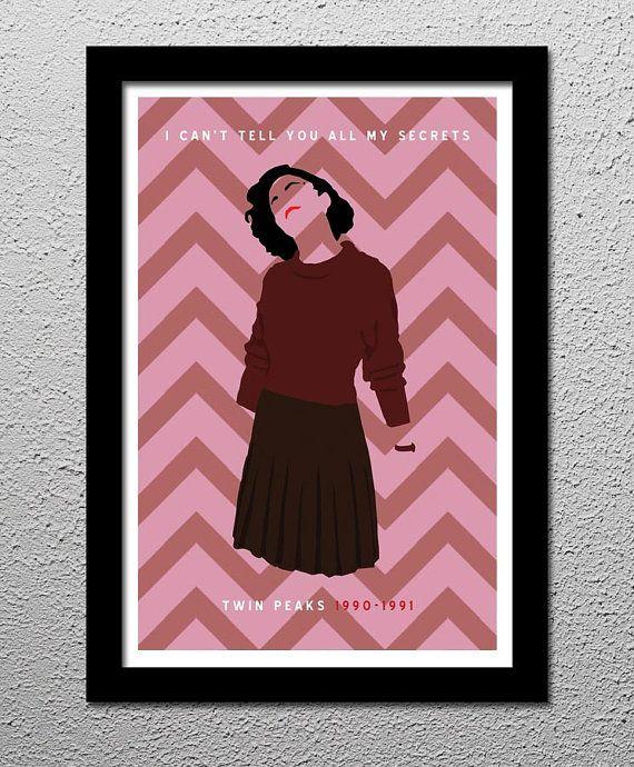 Twin Peaks - Audrey Horne - Secrets - Poster - 13x19 | Twin Peaks ...