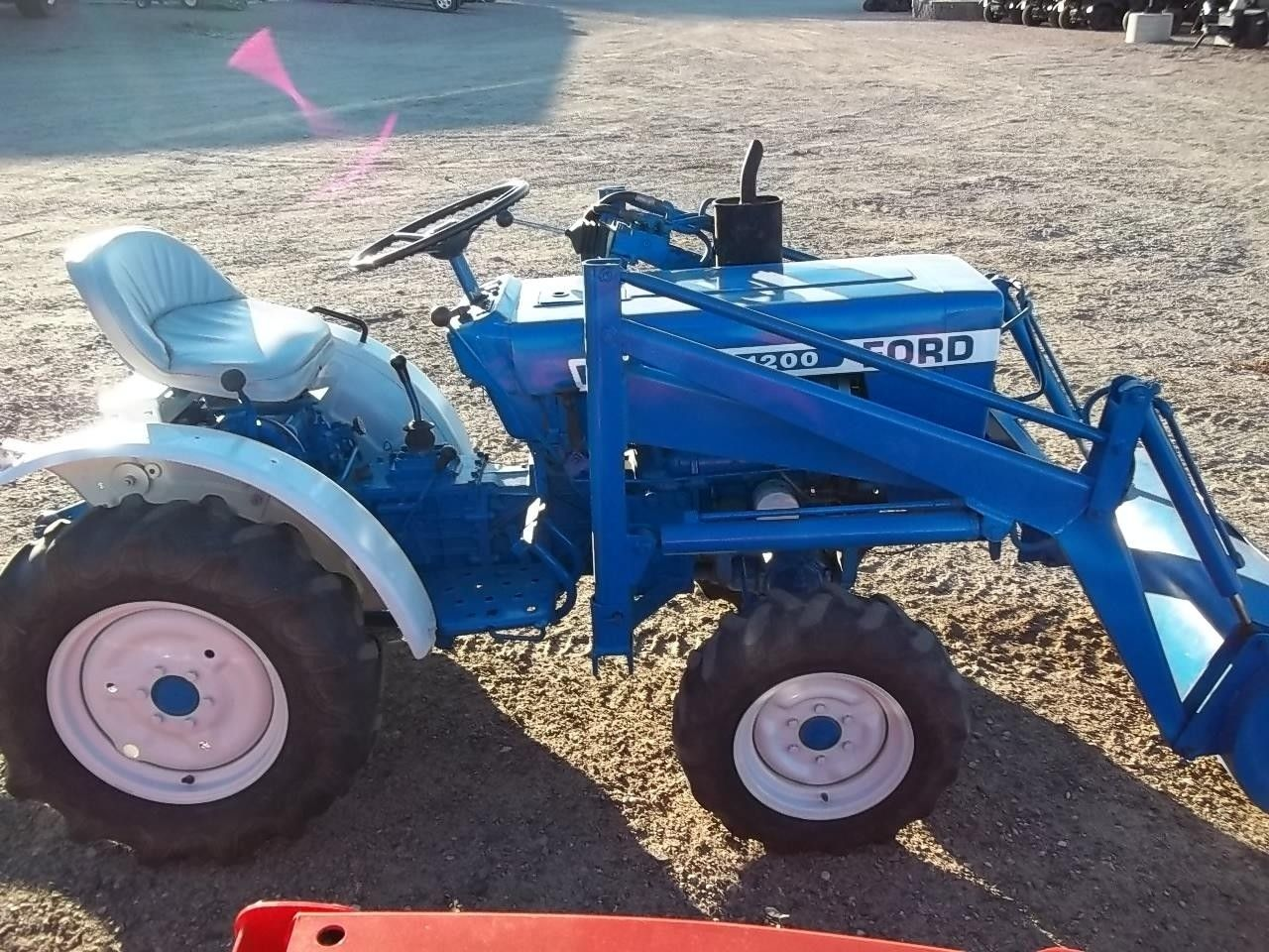 Ford 1200 1979 1982 15 Hp Tractors Ford Tractors Ford