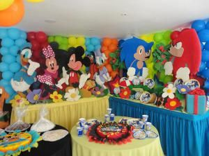 Decoraciones de fiestas infantiles pi atas y centros de - Decoracion cumpleanos nino 6 anos ...