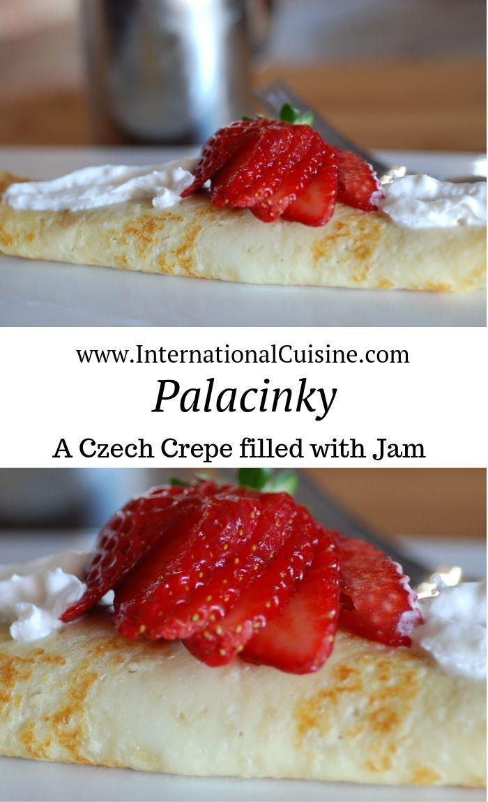 Czech Republic Palačinky - International Cuisine