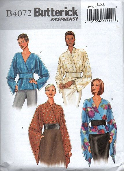 Butterick Sewing Pattern Bohemian Boho by AdeleBeeAnnPatterns, $7.50