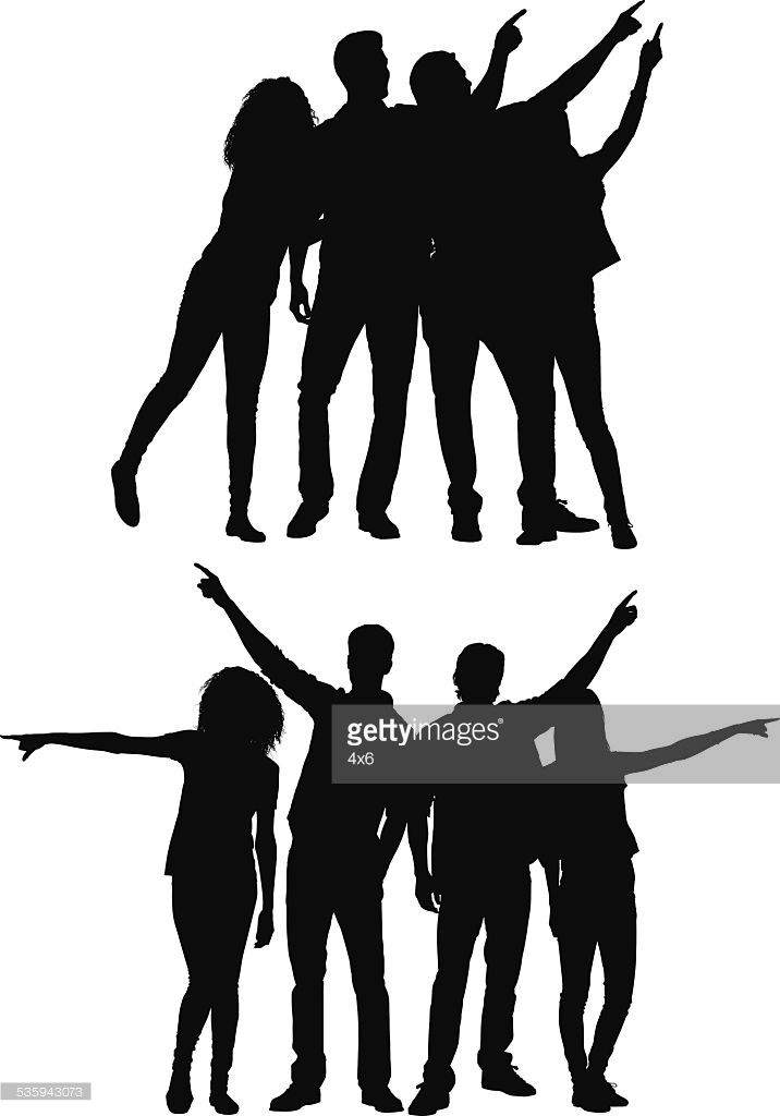 Crowd Clipart Silhouette Crowd Silhouette Silhouette Png Clip Art