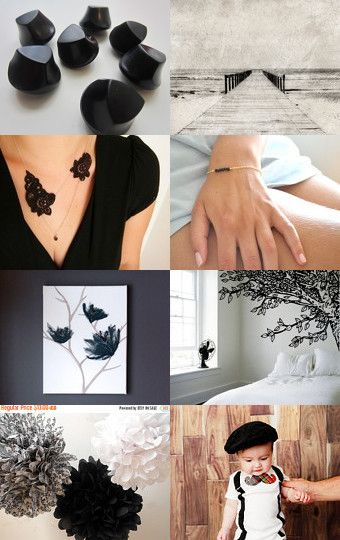 Black is poesy by Elodie Trotin on Etsy--Pinned with TreasuryPin.com
