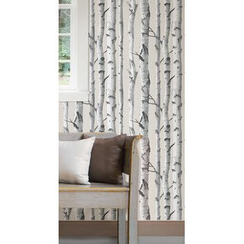 You'll love the Birch Tree Peel And Stick Wallpaper at AllModern - With Great Deals on modern Décor  products and Free Shipping on most stuff, even the big stuff.