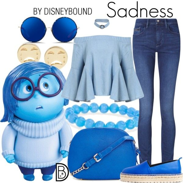 Disney Bound - Sadness