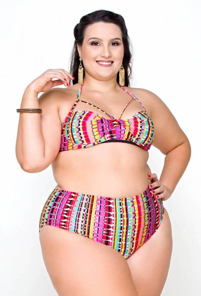 86437283532e Resultado de imagem para tendencias moda praia plus size 2019 ...