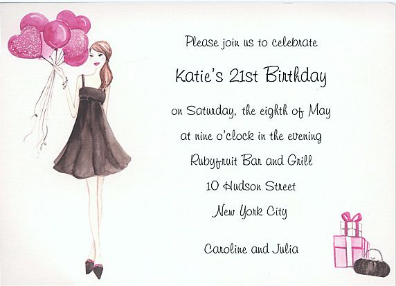 Dashs St Birthday For My Birthday Pinterest St Birthday - 21st birthday invitations pinterest