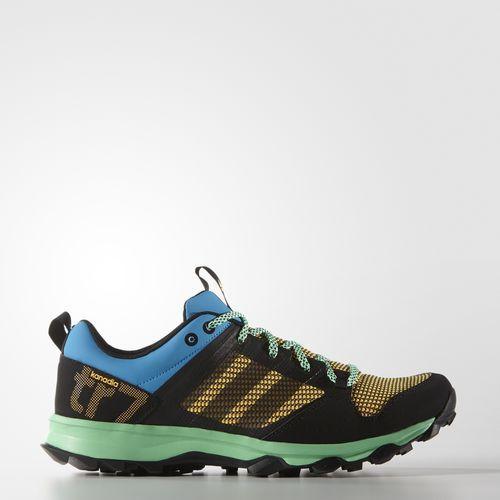 adidas Chaussure Kanadia 7 Trail Green Glow S16Solar