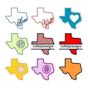 Texas Lone Star Home State. Nine vector art images decal patterns. State with the Heart Love Home Y'all Monogram Round Circle Frame. Cuttable Design Cut File. Vector, Clipart, Digital Scrapbooking Download, Available in JPEG, PDF, EPS, DXF and SVG. Works with Cricut, Design Space, Sure Cuts A Lot, Make the Cut!, Inkscape, CorelDraw, Adobe Illustrator, Silhouette Cameo, Brother ScanNCut and other compatible software.