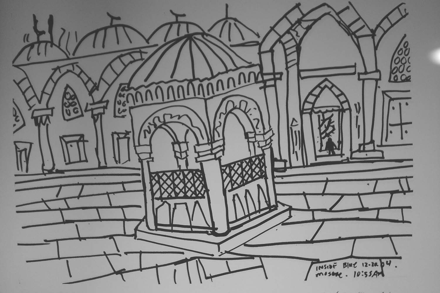 Blue mosque colouring page google search coloriages - Google coloriage ...