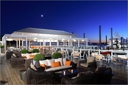 My Next Vacation Destination East Coast The Deck At 41 North In Newport Rhode Island