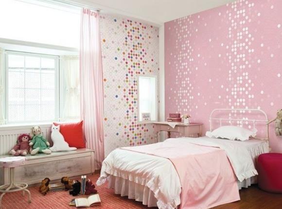 wandfarben ideen kinderzimmer – inkfish, Schlafzimmer design