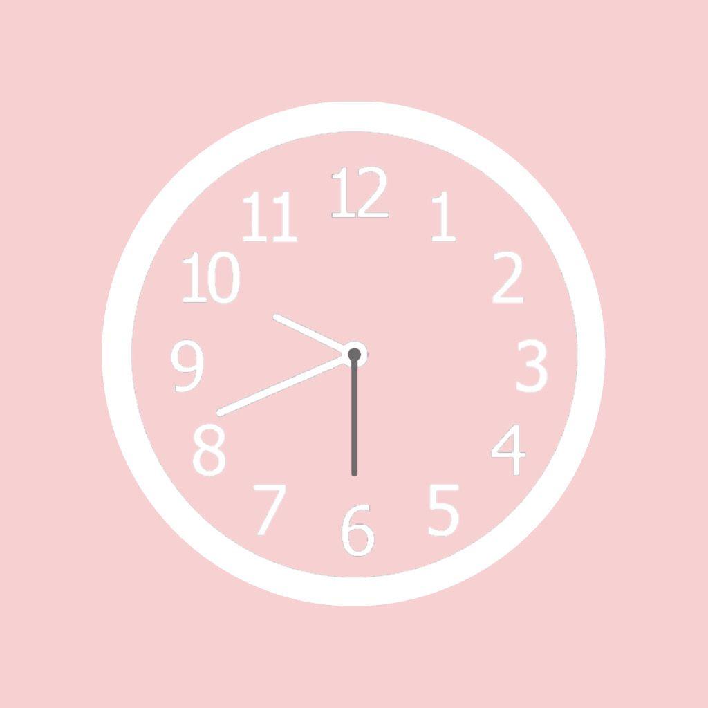 Clock Icon In 2020 Iphone Wallpaper App App Icon Design Iphone Icon