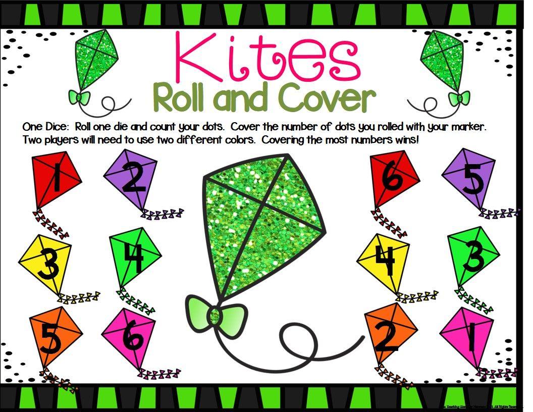 Kite Math Center Dice Games