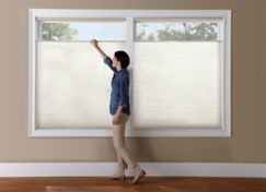 Cordless Top Down Bottom Up Day Night Accordia Cellular Shades Lowes Levolor