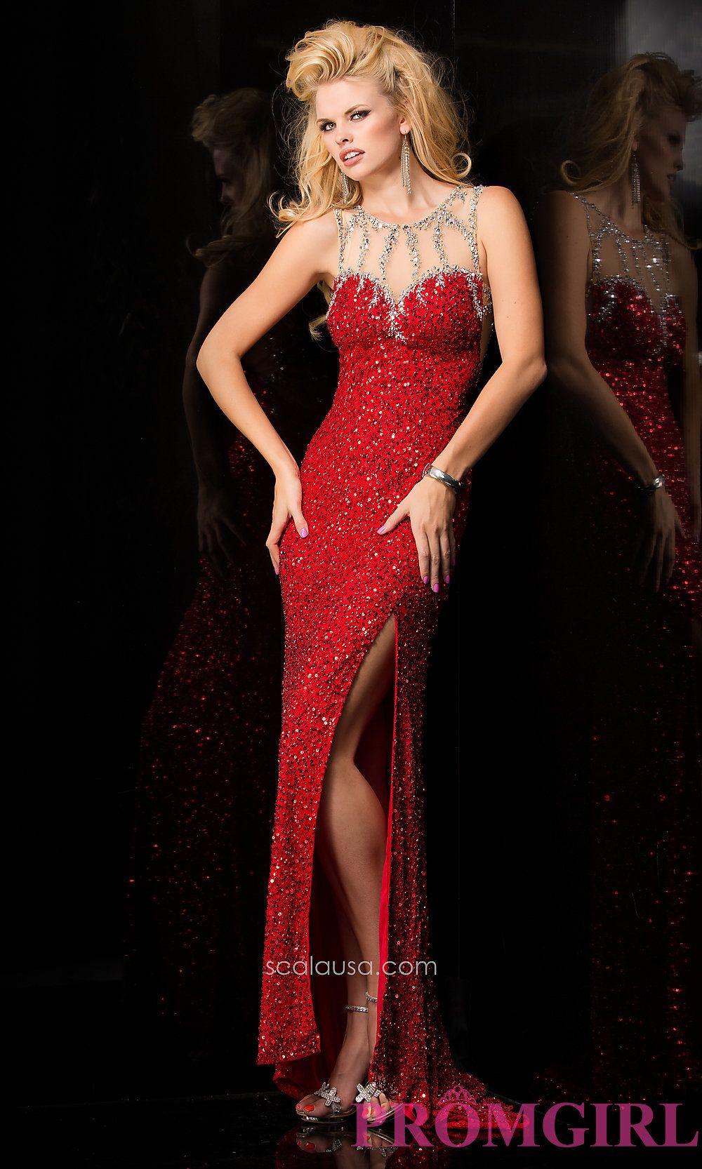Sequin covered floor length scala dress scala dresses