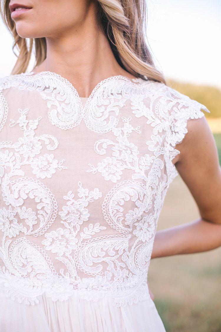 Lace with blush underlay m r s pinterest wedding dresses