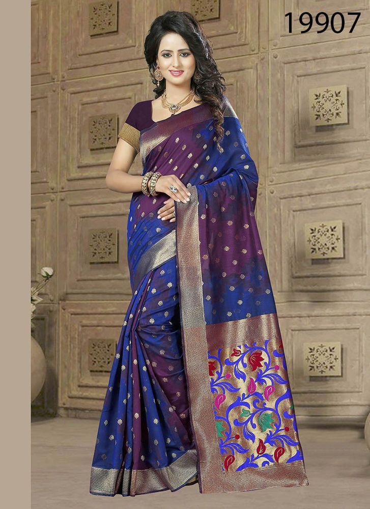 Indian Wedding Saree Bollywood Dress Pakistani Sari Designer Ethnic ...